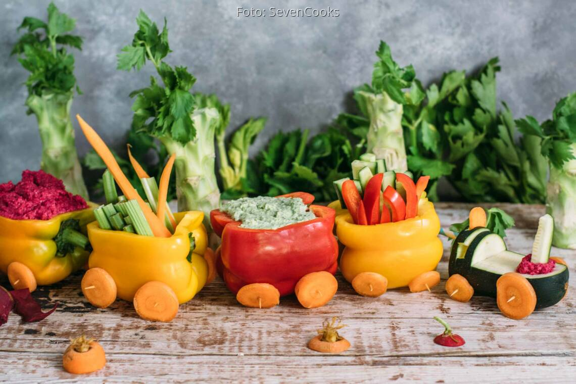 Veganes Rezept: Veggie Train_1