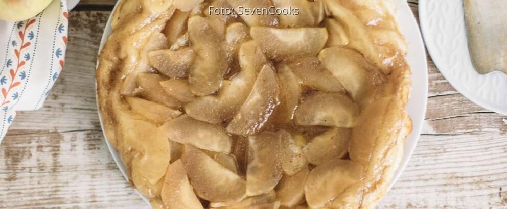 Veganes Rezept: Warmer Apple Pie 2