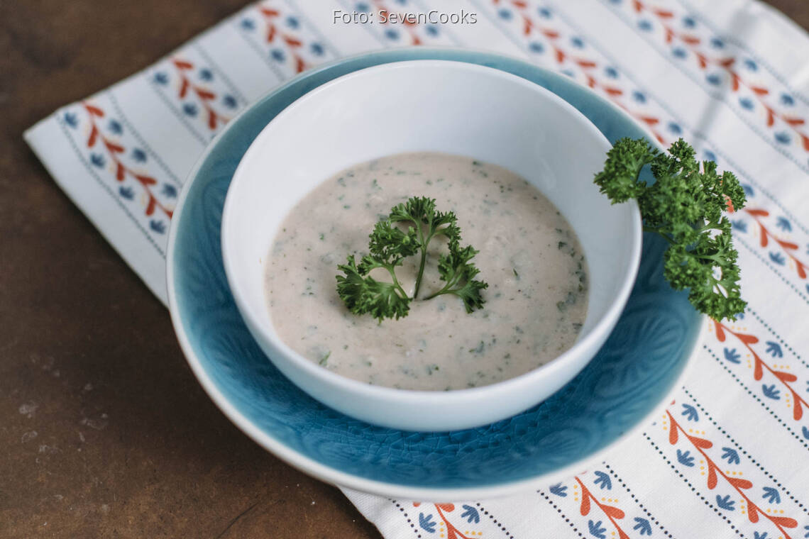 Veganes Rezept: Weiße Bohnen Dip