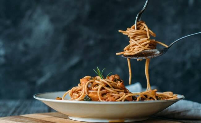 Vegetarisch durch die Woche mit Spaghetti Verdure und mexikanischem Nudelsalat