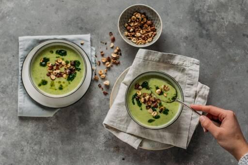 Bärlauch-Blumenkohl-Suppe