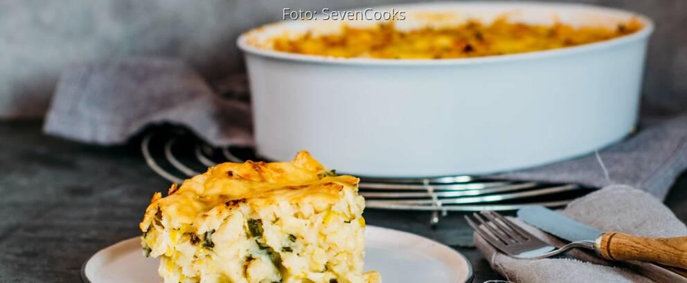 Vegetarisches Gericht: Vegetarischer Spätzleauflauf 3