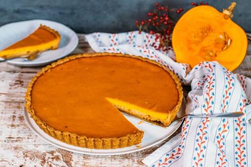Vegetarisches Rezept: American Pumpkin Pie 1