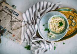 Vegetarisches Rezept: Apfel-Aioli