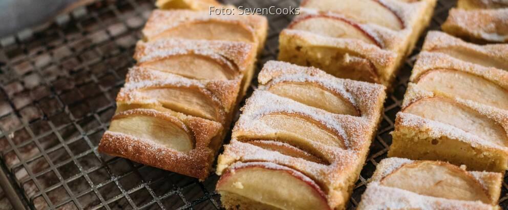 Vegetarisches Rezept: Apfelkuchen vom Blech_3