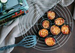 Vegetarisches Rezept: Auberginen-Pizzetta
