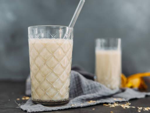 Vegetarisches Rezept: Bananensmoothie 1