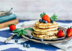 Vegetarisches Rezept: Beerige Pancakes_1
