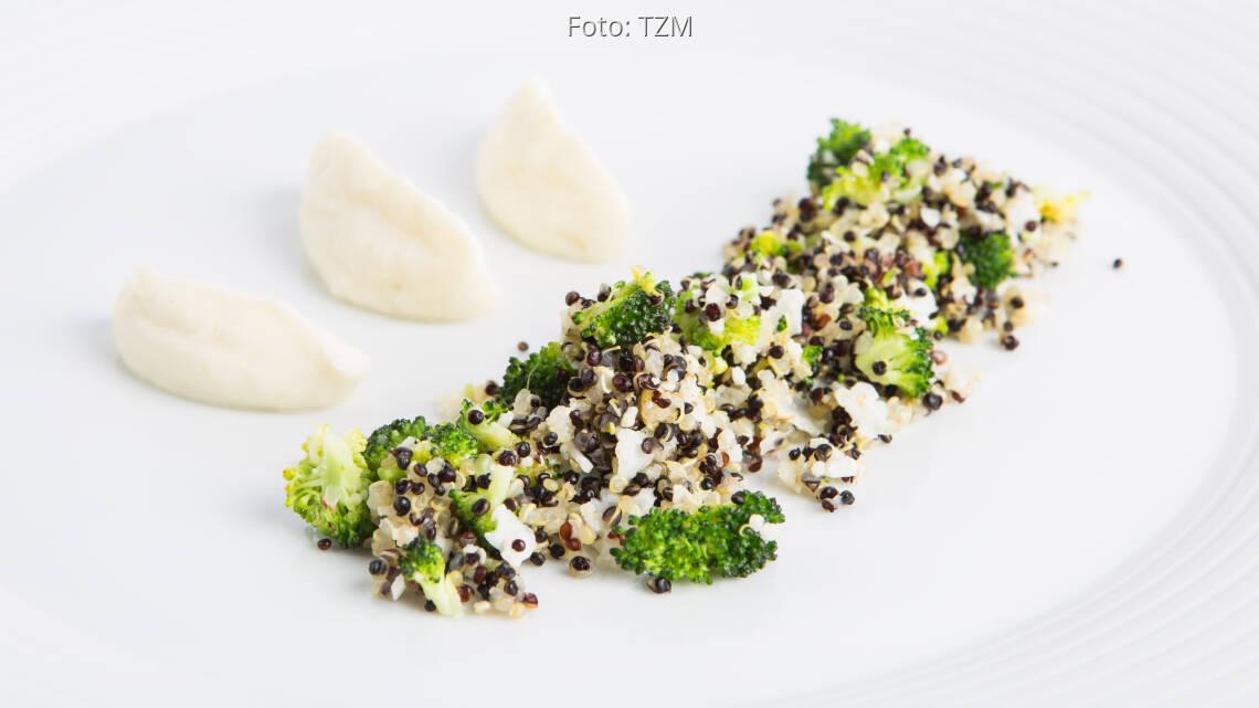 Vegetarisches Rezept: Blumenkohl Quinoa 1