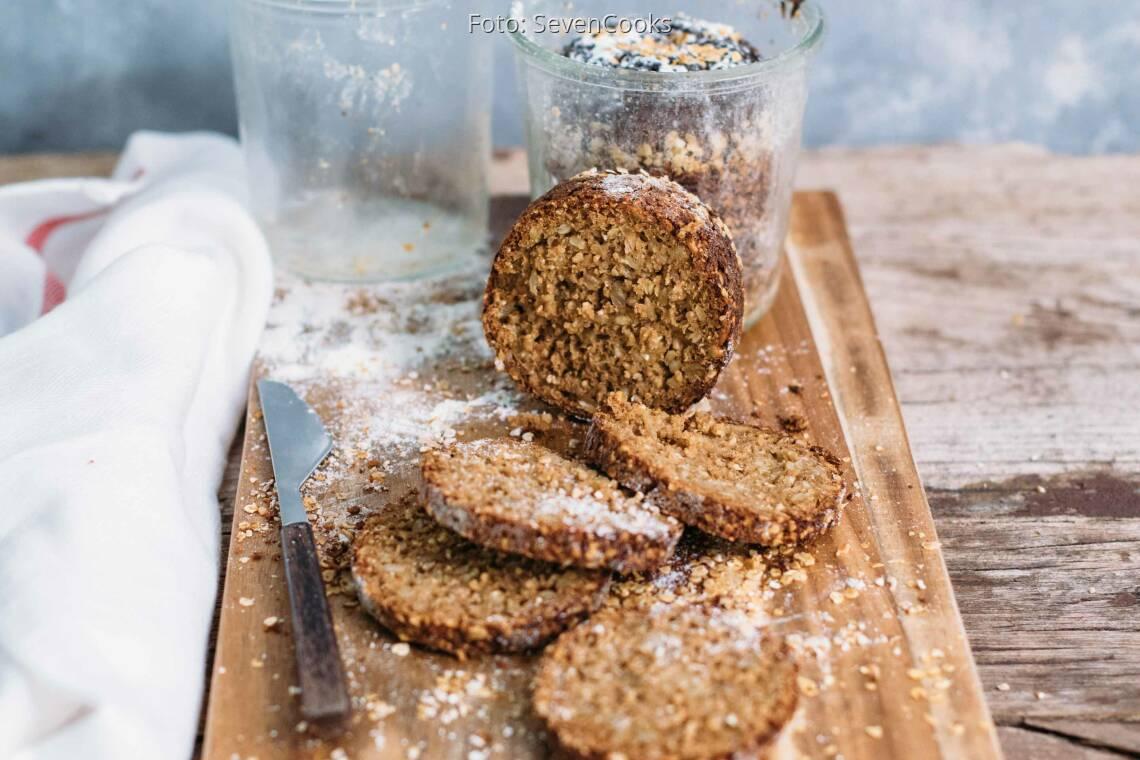 Vegetarisches Rezept: Buttermilch-Joghurt-Brot im Weckglas_1