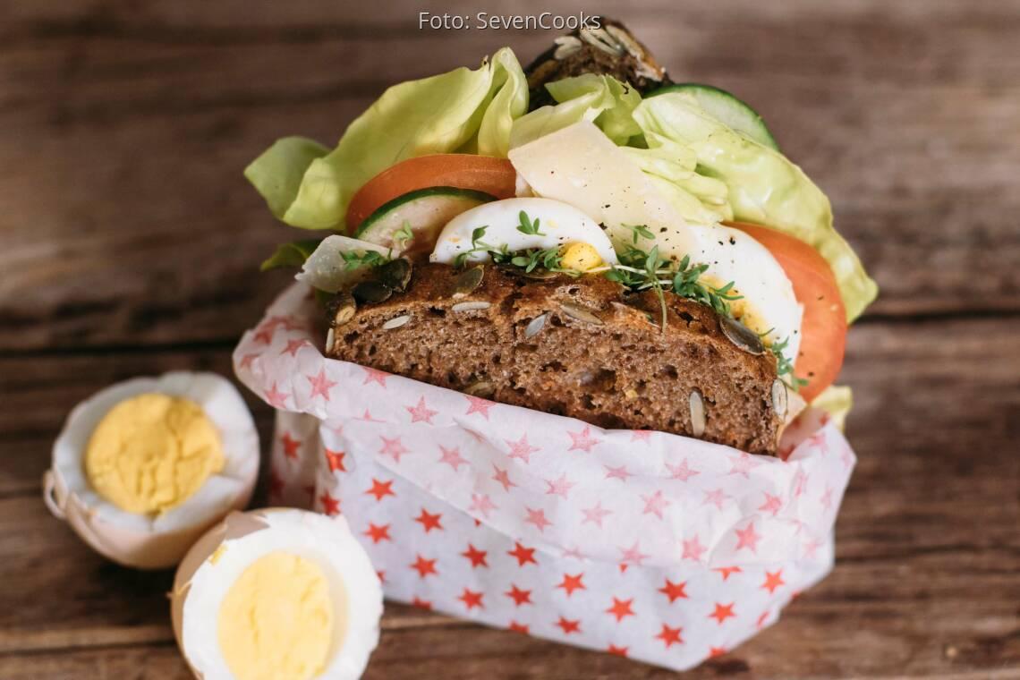 Vegetarisches Rezept: Caesar Sandwich