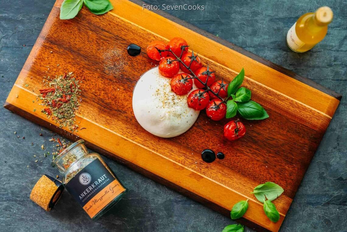 Vegetarisches Rezept: Caprese gegrillt 1