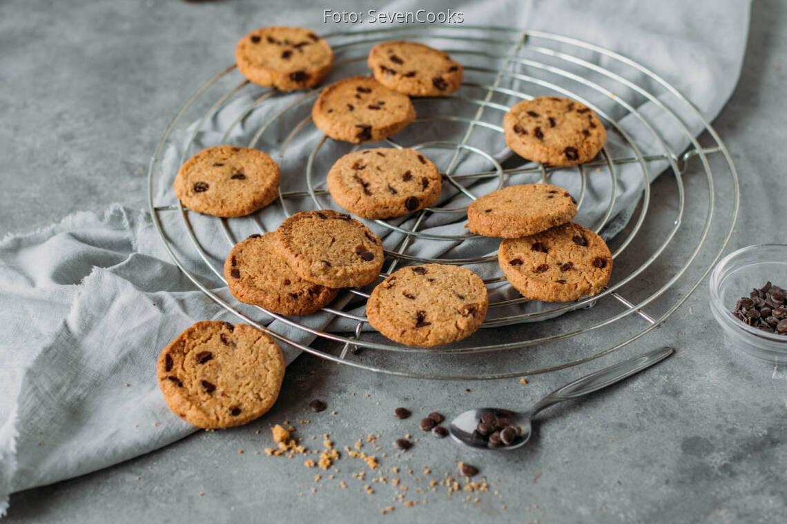 Vegetarisches Rezept: Chocolate Chip Cookies auf Vorrat 1