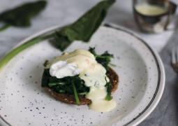 Vegetarisches Rezept: Eggs Florentine