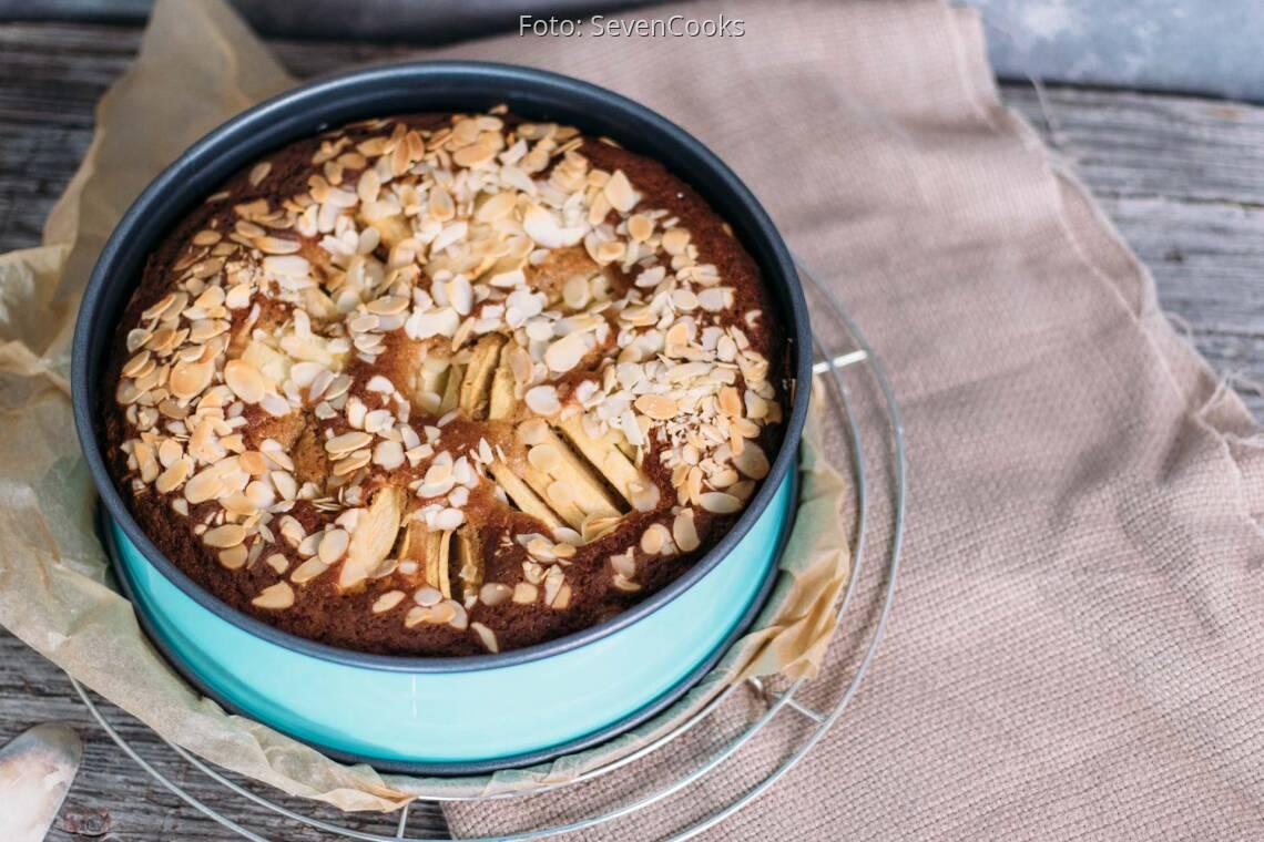 Vegetarisches Rezept: Einfacher Apfelkuchen_1