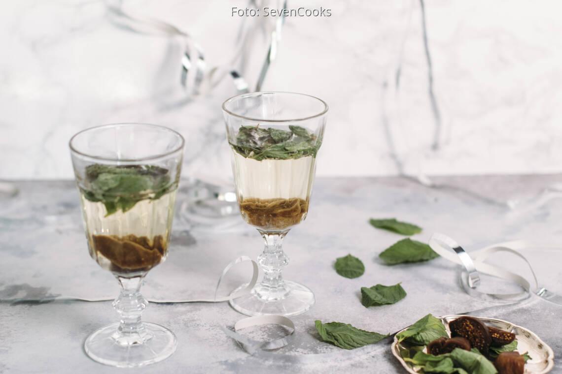 Vegetarisches Rezept: Feigen-Sekt 1