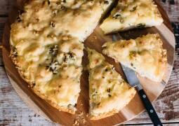 Vegetarisches Rezept: Fladenbrot Pizza Potatoe 1