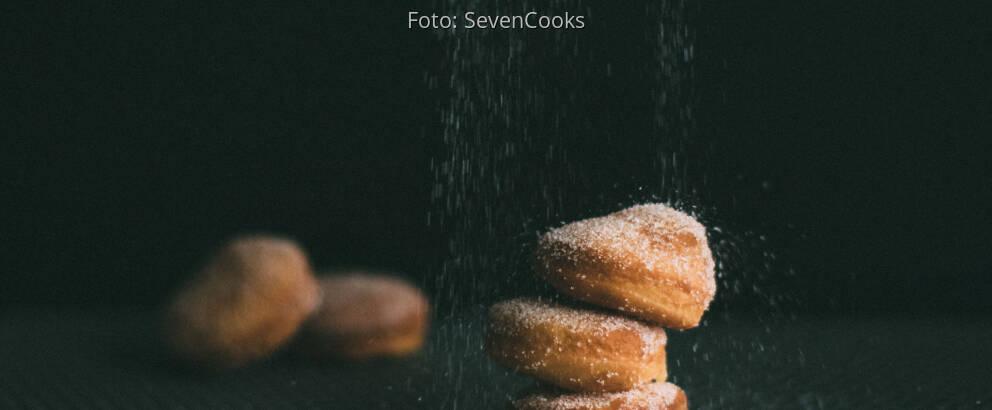 Vegetarisches Rezept: Gefülltes Apfelgebäck