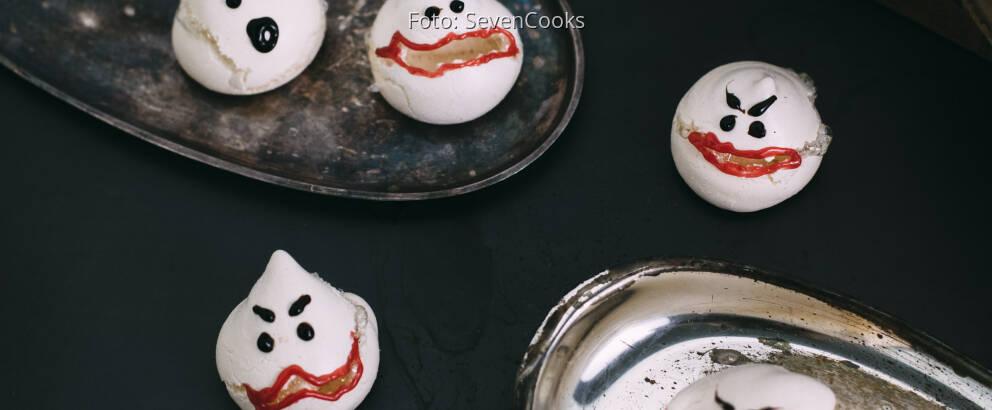 Vegetarisches Rezept: Geister-Baisers