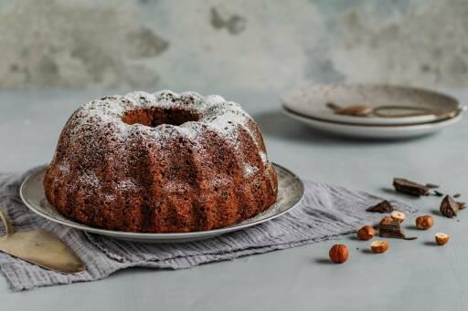 Vegetarisches Rezept: Glutenfreier Rührkuchen 1