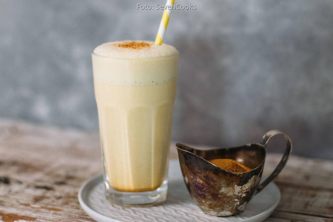 Vegetarisches Rezept: Golden Milkshake_1