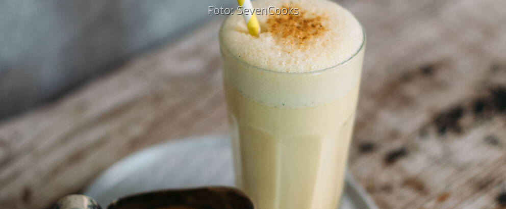 Vegetarisches Rezept: Golden Milkshake_2