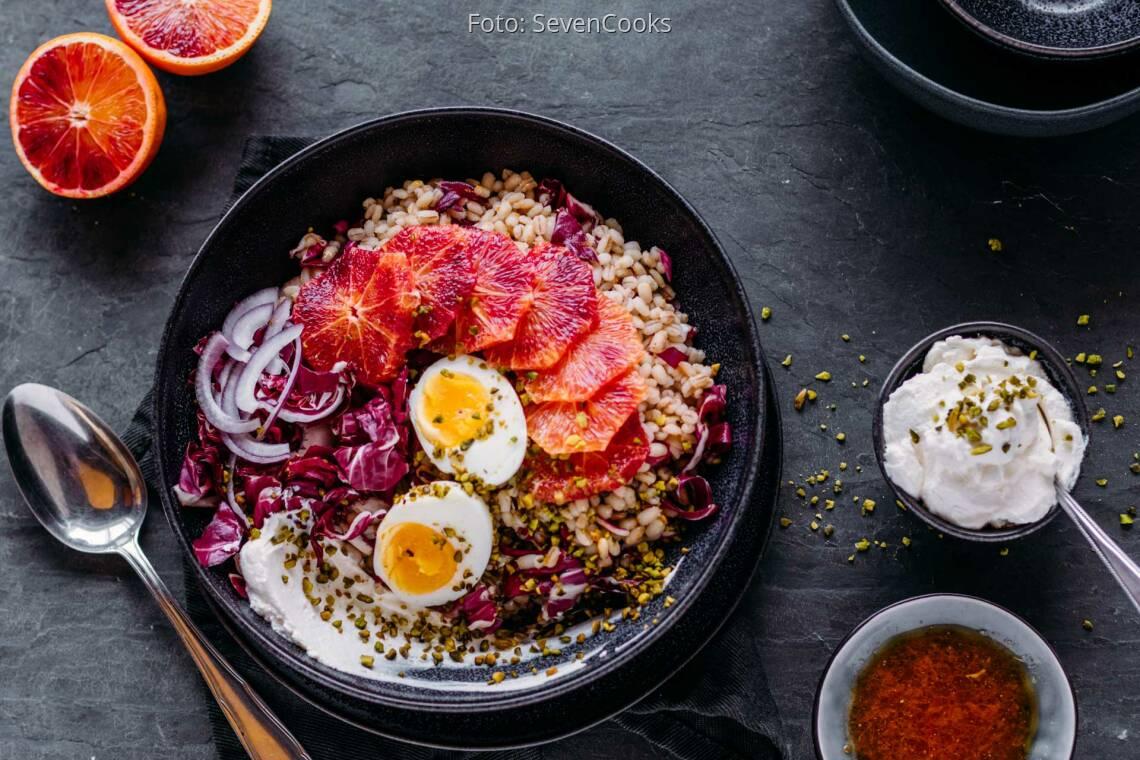 Vegetarisches Rezept: Graupen-Power-Bowl 1