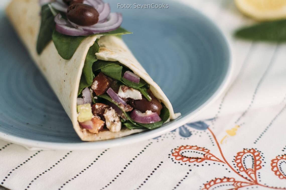 Vegetarisches Rezept: Griechische Burritos_1