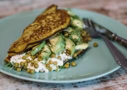 Vegetarisches Rezept: Grünes Frühstücksomlette_1