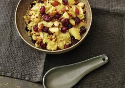 Vegetarisches Rezept: Hirse Bowl mit Cranberrys