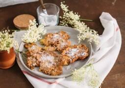 Vegetarisches Rezept: Holunderblütenküchlein_1