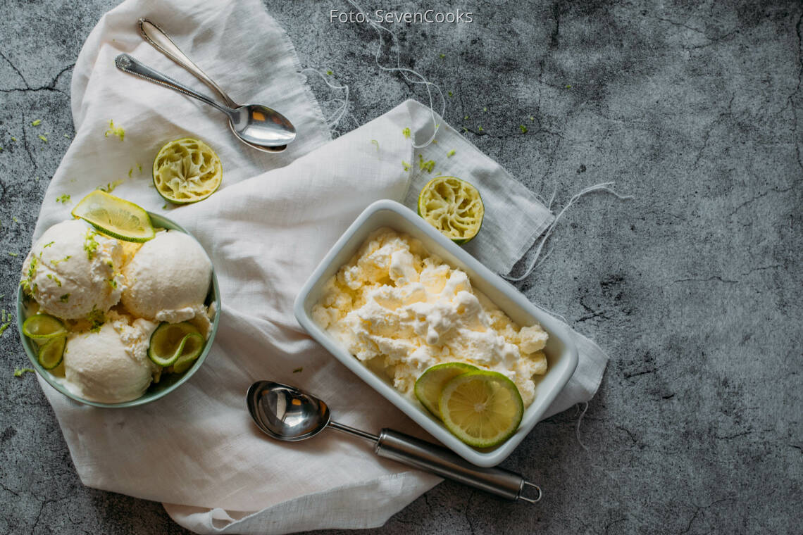 Vegetarisches Rezept: Joghurt Eis