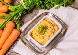 Vegetarisches Rezept: Karotten-Frischkäse-Dip 1