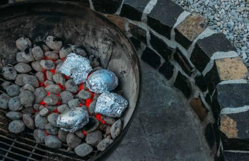 Vegetarisches Rezept: Kartoffeln aus der Glut 1