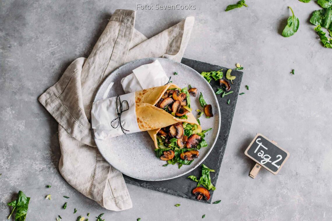 Vegetarisches Rezept: Kids Meal-Prep 2: Pfannkuchen Wraps_1_Schild