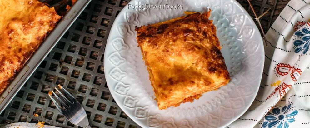 Vegetarisches Rezept: Kohlrabi-Lasagne 3