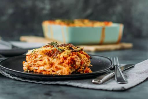 Vegetarisches Rezept: Linsen-Lasagne 1
