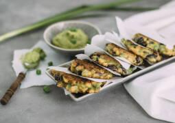 Vegetarisches Rezept: Mais-Gemüse-Puffer