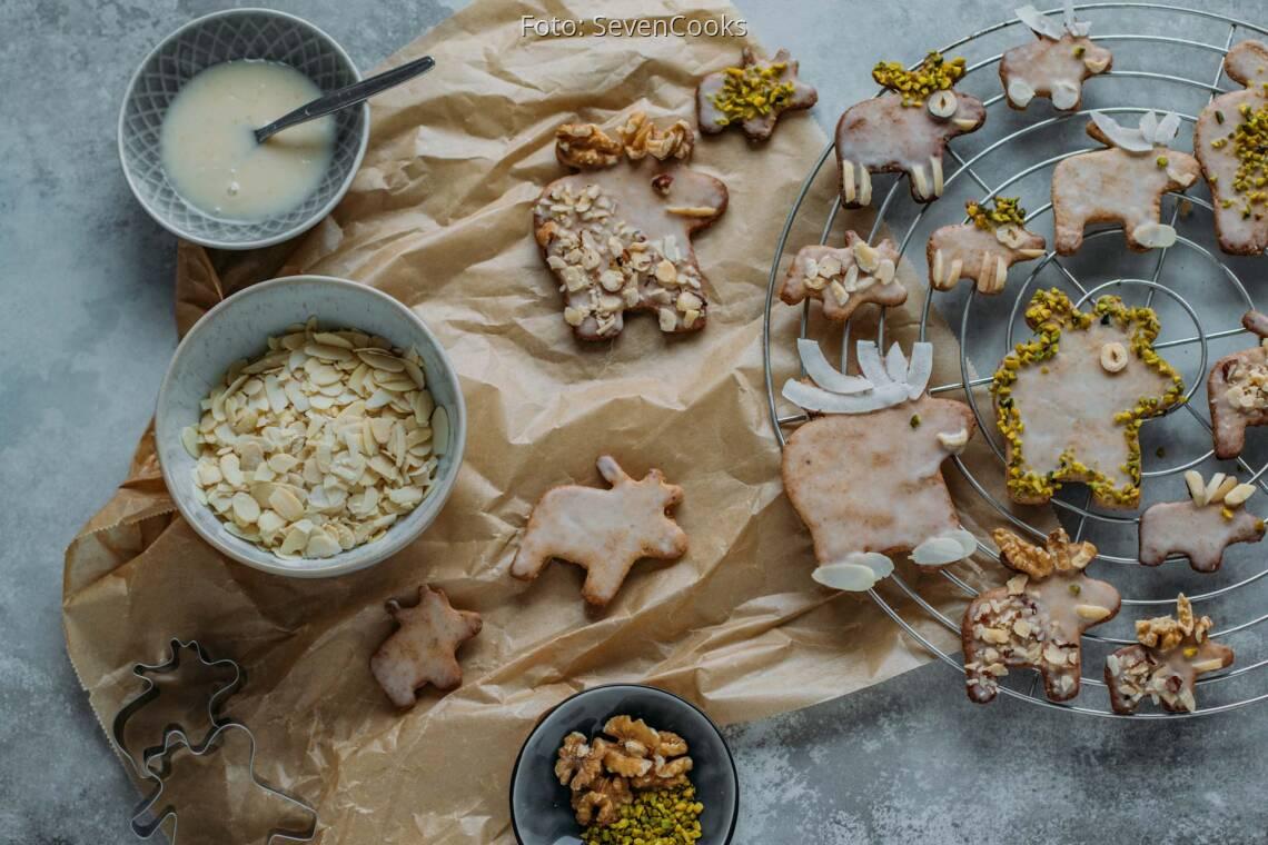 Vegetarisches Rezept: Mandel-Butterplätzchen