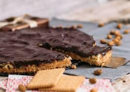 Vegetarisches Rezept: Mandel-Karamell-Schokoladen Tarte 1