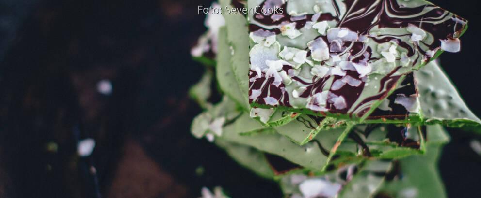 Vegetarisches Rezept: Matcha-Bruch