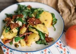 Vegetarisches Rezept: Mediterraner Kartoffelsalat_1