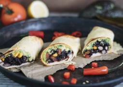 Vegetarisches Rezept: Mexikanische Burritos_1