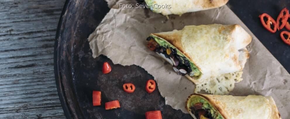Vegetarisches Rezept: Mexikanische Burritos_2