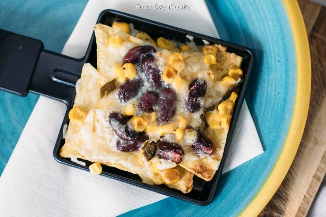 Vegetarisches Rezept: Mexikanisches-Raclette