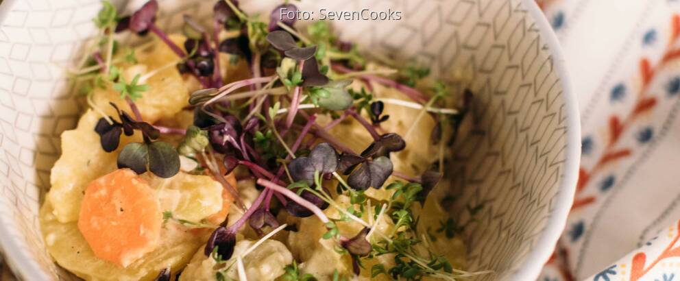 Vegetarisches Rezept: Norddeutscher Kartoffelsalat_1
