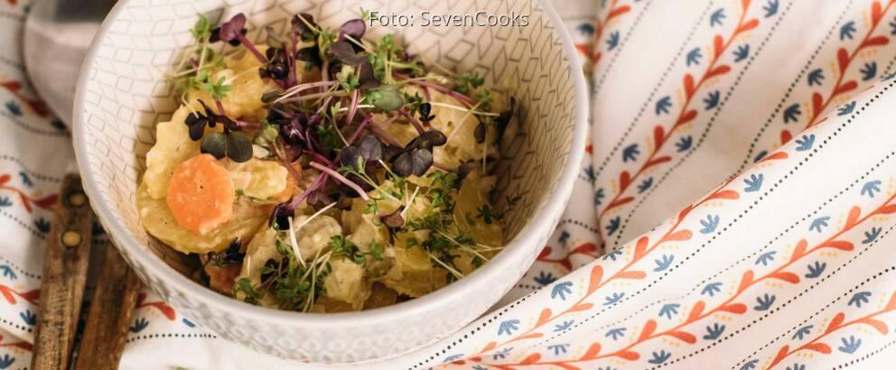 Vegetarisches Rezept: Norddeutscher Kartoffelsalat_3