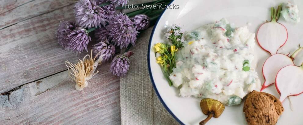 Vegetarisches Rezept: Obazda mit Roquefort, Birne und Walnuss_2