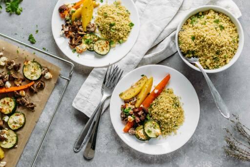 Vegetarisches Rezept: Ofengemüse mit Couscous 1