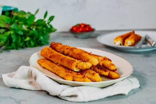 Vegetarisches Rezept: Panierter-Käse-Spargel_1